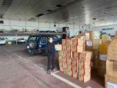 La Diputación compra 30.000 guantes para sus residencias