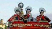 Garray voltea las campanas en sus fiestas patronales