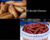 Los mayordomos de la Virgen de Olmacedo venden el chorizo
