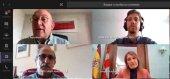 Charla virtual de Carnero con alumnos del IES Machado