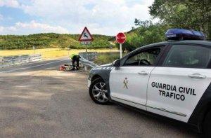 Dos accidentes de tráfico en Nolay y Candilichera