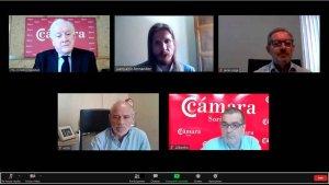 Las Cámaras trasladan a Podemos sus propuestas para reactivación
