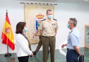 El Rey destaca la identificación con las Fuerzas Armadas