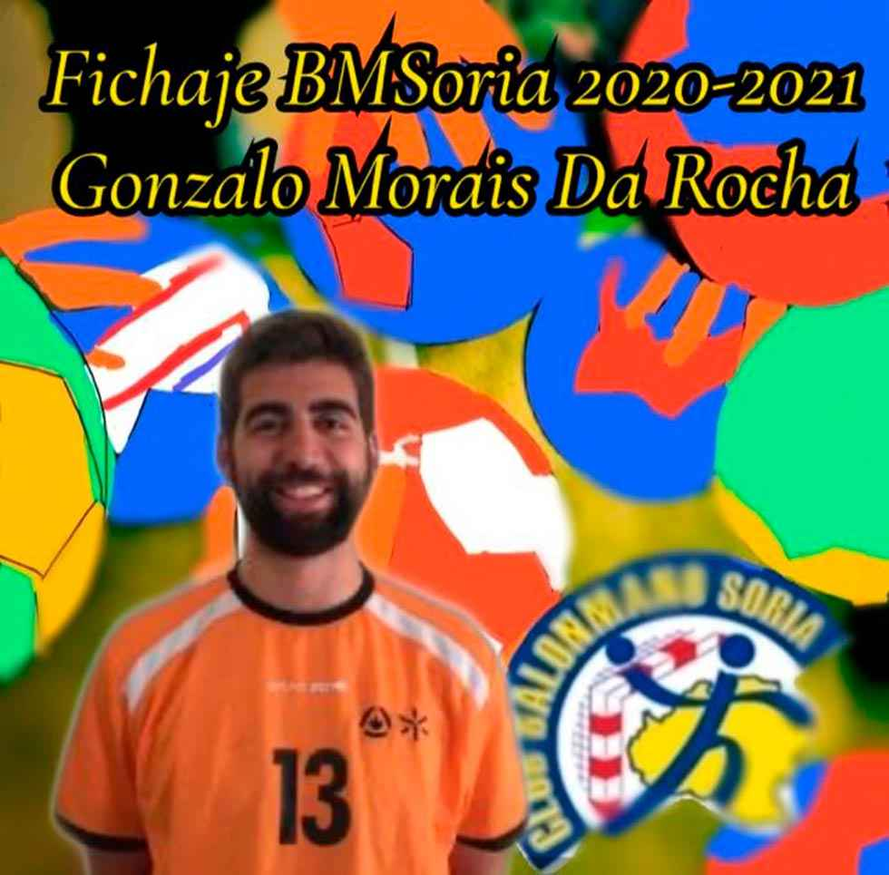 El BM Soria se refuerza con Gonçalo Areias