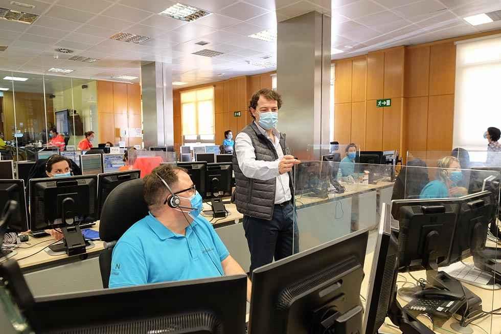 El Centro de Emergencias 1-1-2 duplica llamadas durante Covid