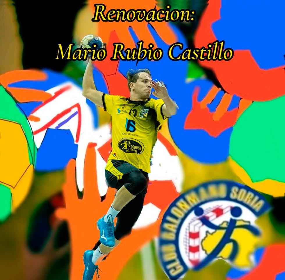 Mario Rubio renueva con el C.B. Soria