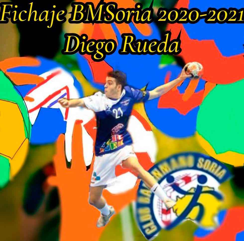El extremo Diego Rueda, tercer fichaje de C.B. Soria