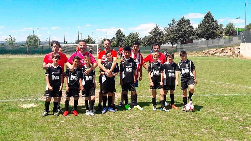Inscripciones para el fútbol base de Golmayo-Camaretas