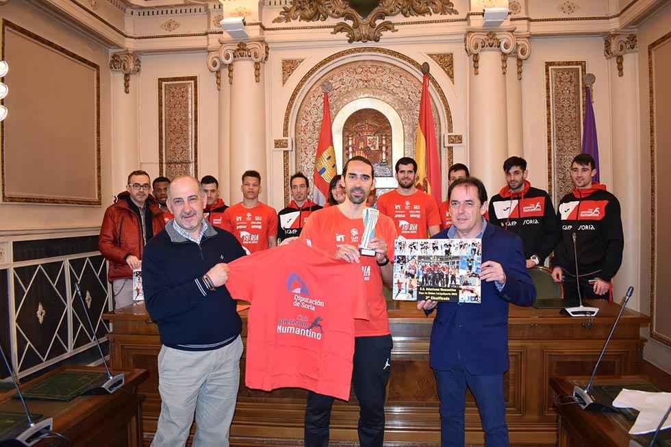 Diputación apoya proyección de Atletismo Numantino