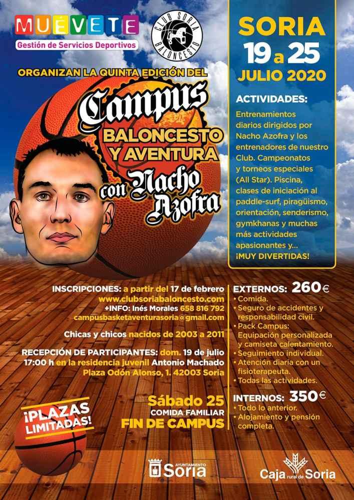Se confirma la realización del campus de baloncesto