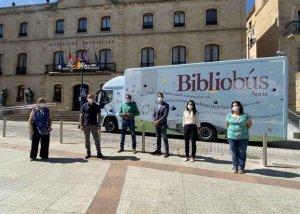 El bibliobús retoma sus recorridos tras dos meses