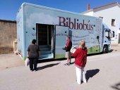El nuevo bibliobús inicia su andadura por la provincia