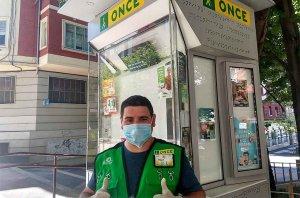 Los vendedores de la ONCE regresan a las calles