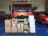 Leroy Merlin dona material al servicio provincial de Bomberos
