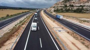 El nuevo tramo abierto de la A-11 en la provincia