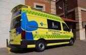 Dos heridos en accidente de tráfico en Tardelcuende