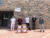Tercera entrega de material sanitario de Tierras Altas