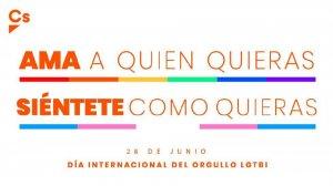Ciudadanos, con el Día Internacional del Orgullo LGTBi