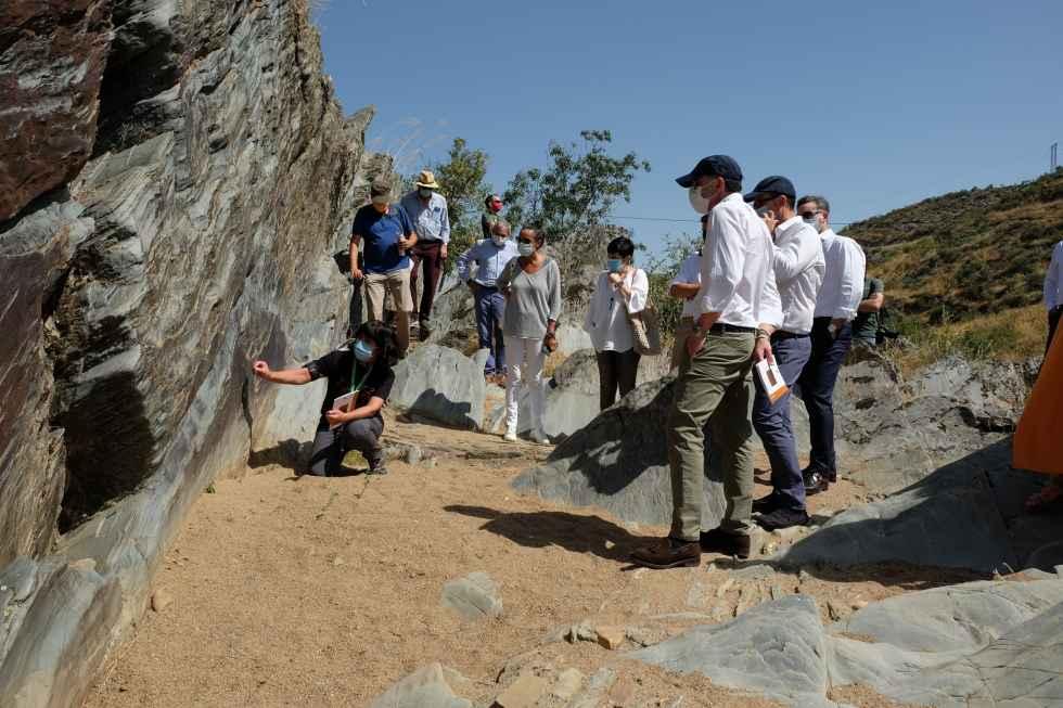 Impulso al yacimiento rupestre de Siega Verde en X aniversario