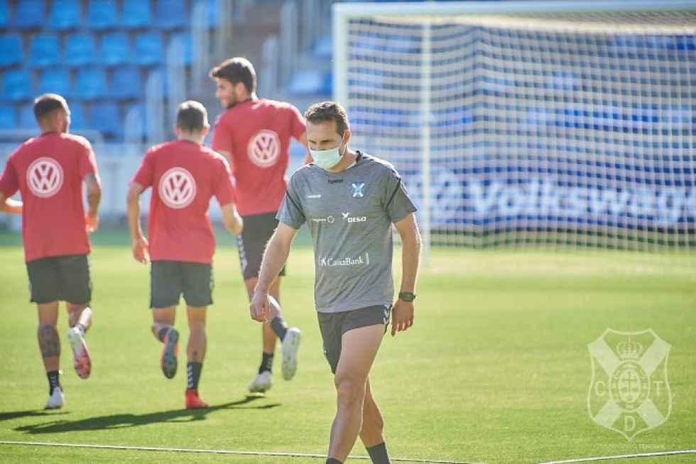 """Rubén Baraja: """"Daremos un buen tono frente al Numancia"""""""