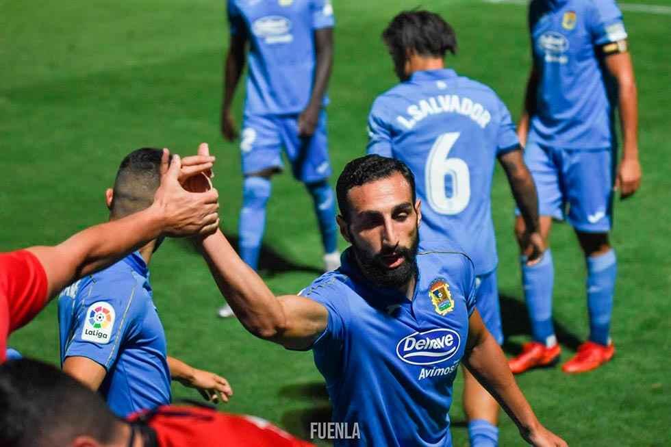 Once positivos en brote del F.C. Fuenlabrada