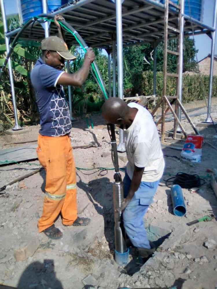 Mejora de las condiciones de acceso al agua en el Liceo Mahidio