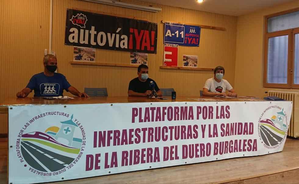 Nueva marcha lenta para exigir fin de la autovía del Duero