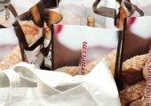 Bolsa con productos sorianos, como agradecimiento al SAMUR