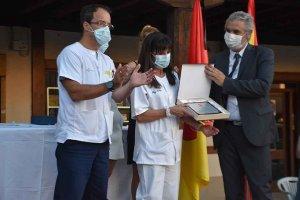 Berlanga de Duero: homenaje a los protagonistas del COVID - fotos