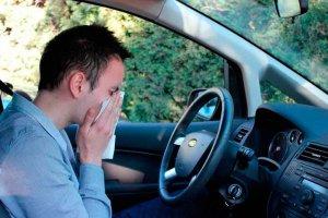 Conductor alérgico, ¿peligro al volante?