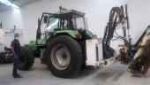 Renovación del parque de maquinaría con tractor desbrozador