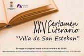 Convocado el XXV Certamen Literario