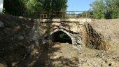 Cortada por obras la carretera de Villar de Maya