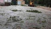 Villar del Río sufre una intensa tormenta