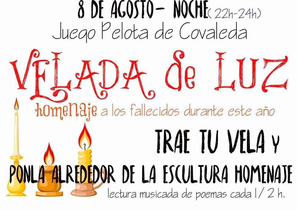 """""""Velada de luz"""" por las víctimas de la Covid 19"""