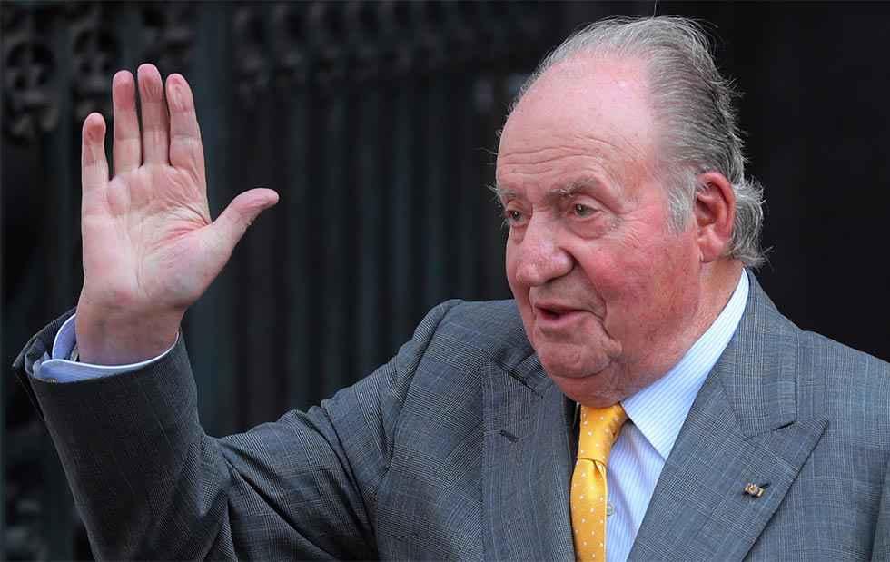 El Rey Emérito se traslada fuera de España
