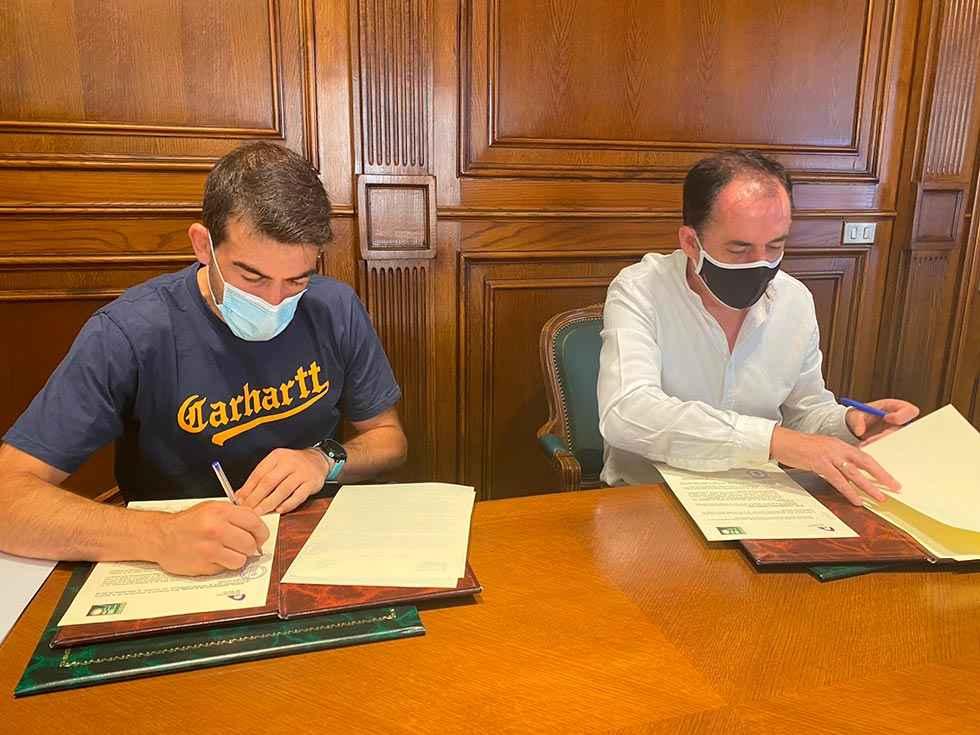Diputación respalda promoción del C.D. Pelota Urbión