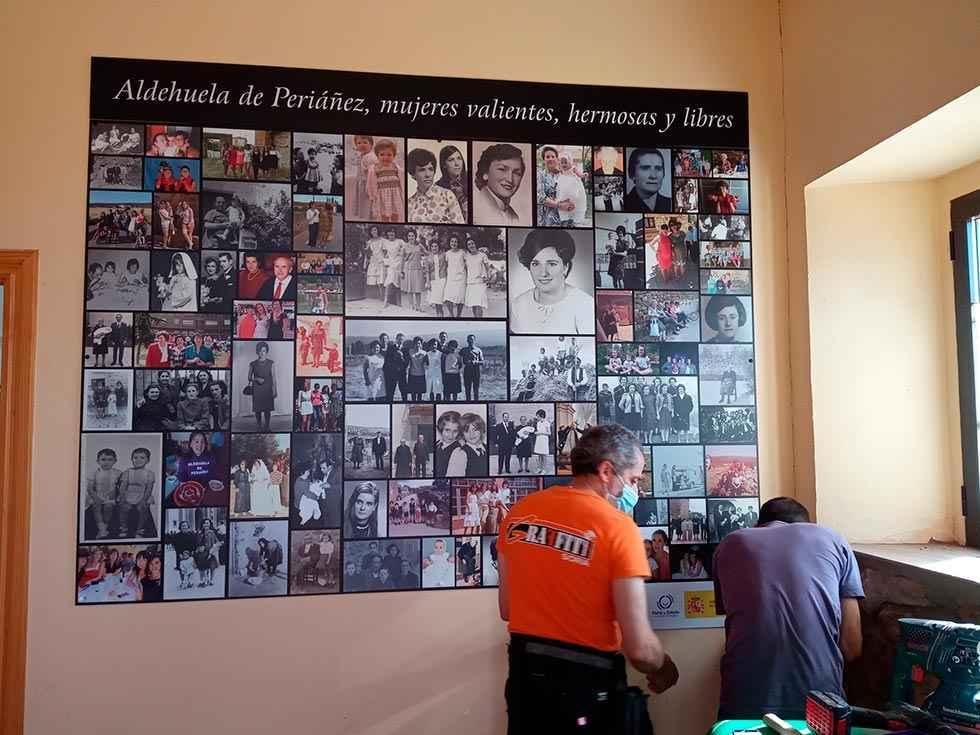 Aldehuela de Periáñez homenajea a las mujeres del pueblo