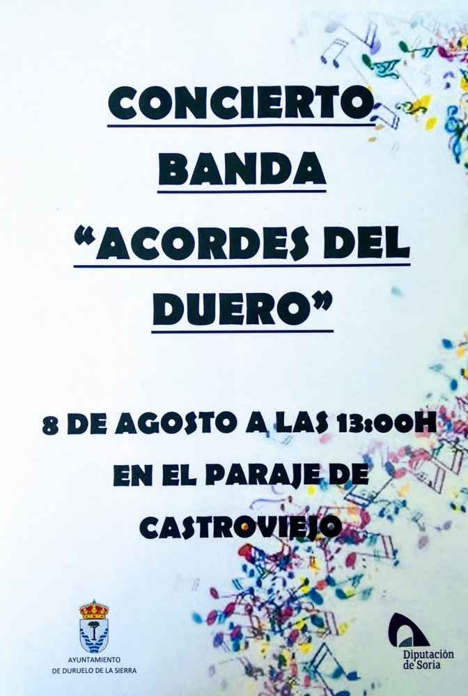 """Concierto de """"Acordes del Duero"""" en Castroviejo"""