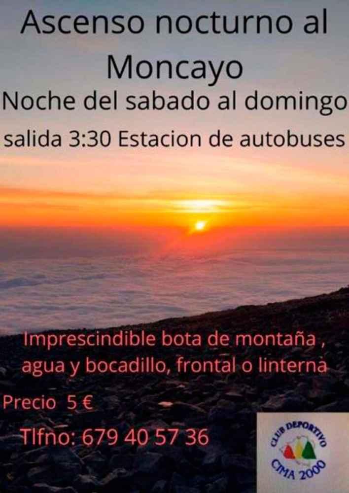 Ascensión nocturna al Moncayo y lágrimas de San Lorenzo