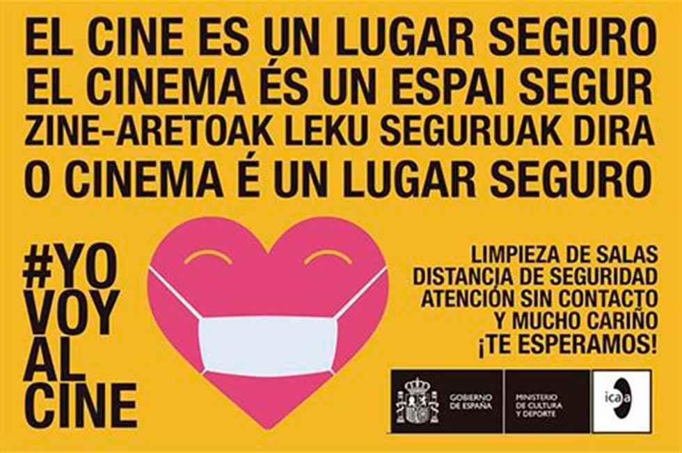 Campaña para reactiviar las salas de cine