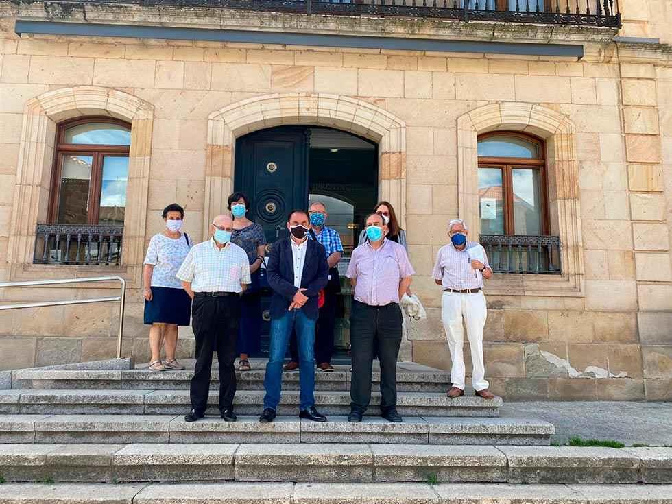 La Federación de Casas de Soria se reúne en Diputación