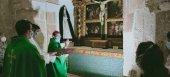El obispo bendice algunas obras en la parroquia de Beltejar