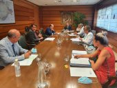 Junta y CHD avanzan en depuración de aguas residuales