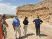 Las obras en el castillo de San Esteban de Gormaz, concluidas este año