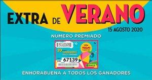 El Extra de Verano reparte 12 millones por toda España
