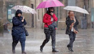 Potente borrasca impacta en Europa en pleno agosto