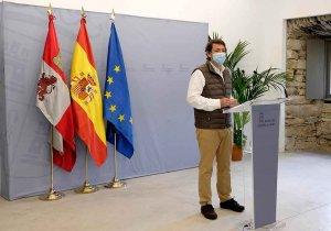 """Mañueco: """"La Junta hará lo necesario para proteger la salud"""""""