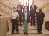 Seis nuevos policías para la Comisaría