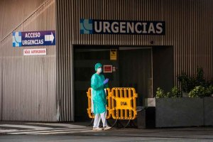 Covid 19: 188 pacientes ingresados en hospitales públicos